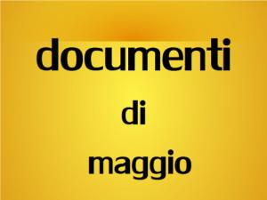 banner documenti di maggio
