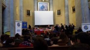 Aula magna università di Pavia