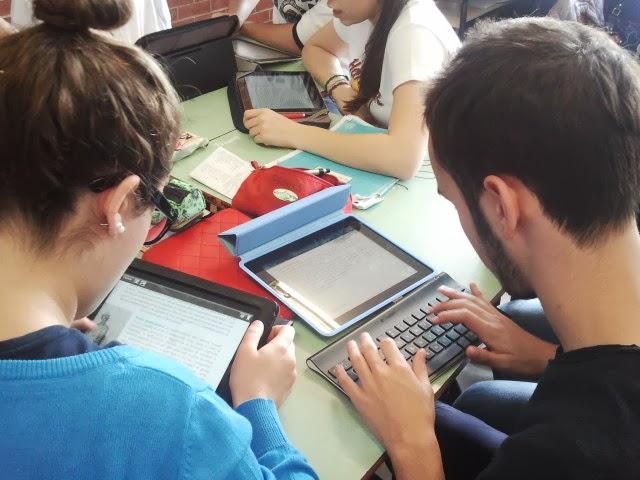 studenti impegnati in attività didattiche