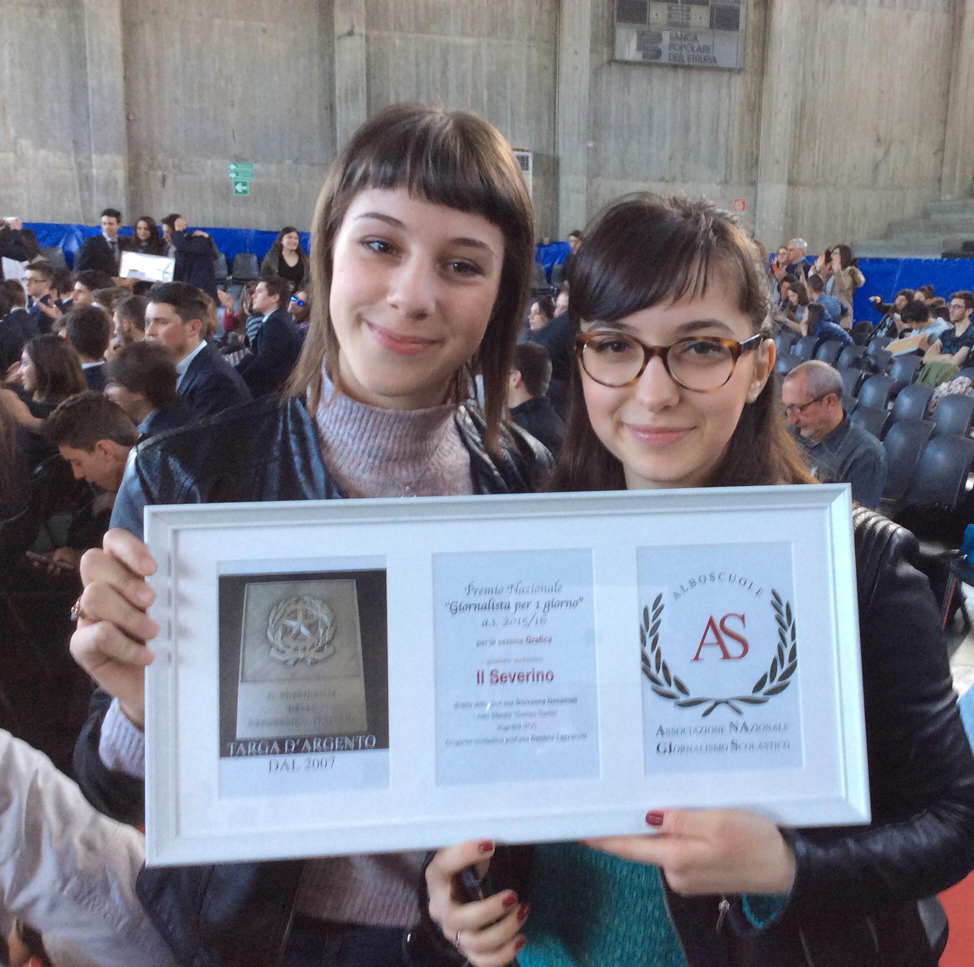 il premio alla redazione del Severino