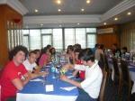 Cappadocia 2012, cena di gruppo con gli ospiti turchi