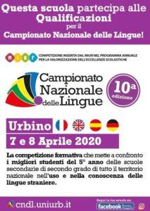 cmpionato nazionale delle lingue - banner